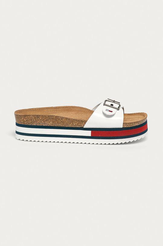 biela Tommy Jeans - Šľapky Dámsky