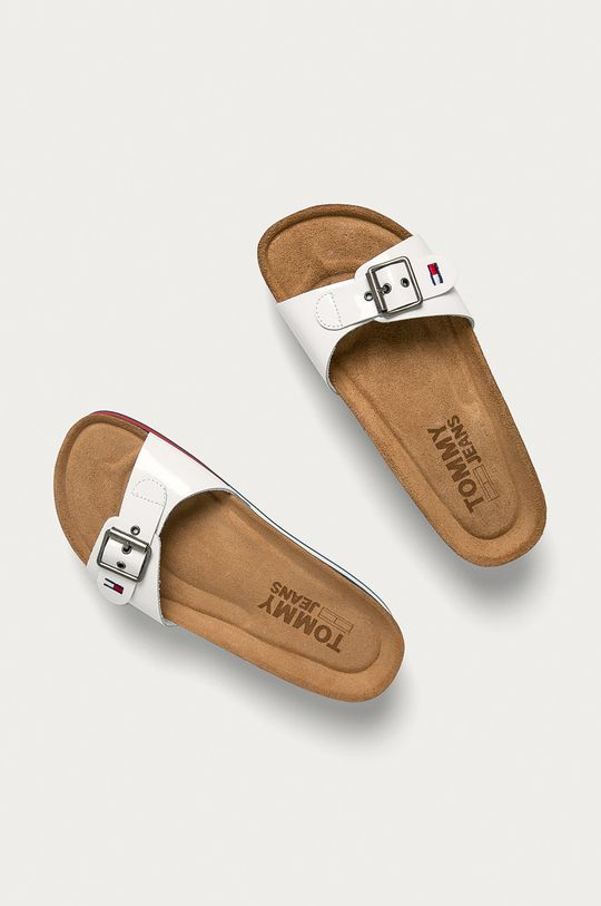 Tommy Jeans - Šľapky biela
