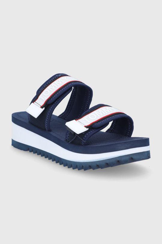 Tommy Jeans - Sandały granatowy