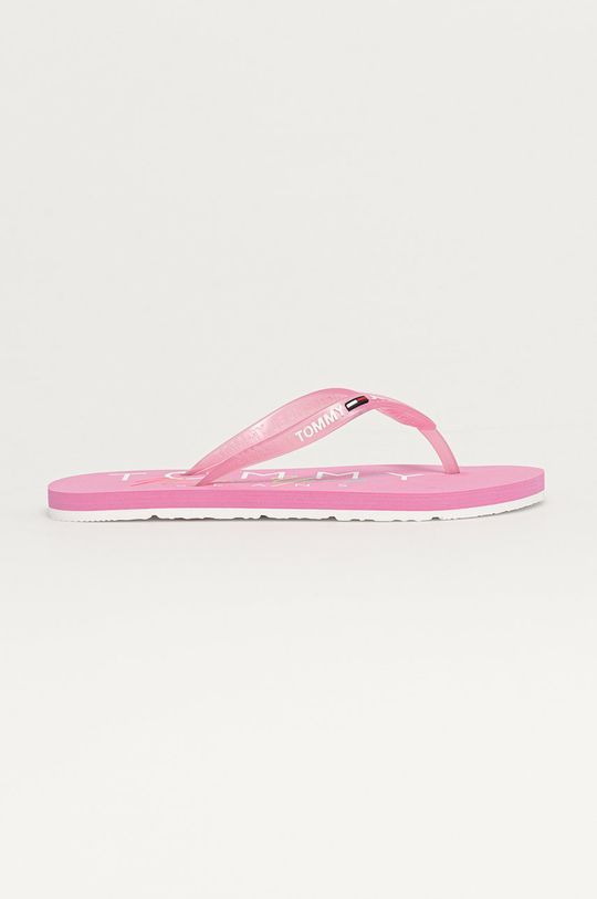 růžová Tommy Jeans - Žabky Dámský