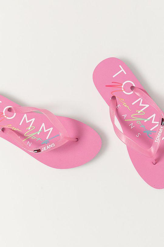 Tommy Jeans - Žabky růžová