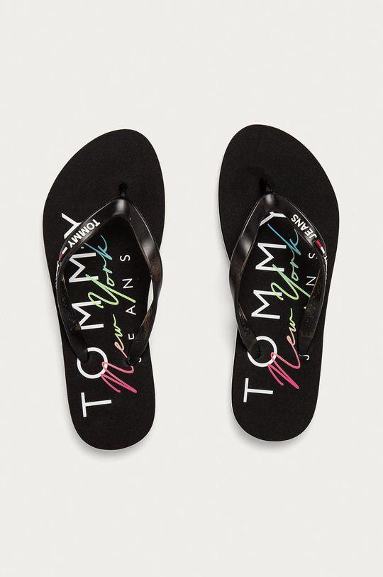 černá Tommy Jeans - Žabky