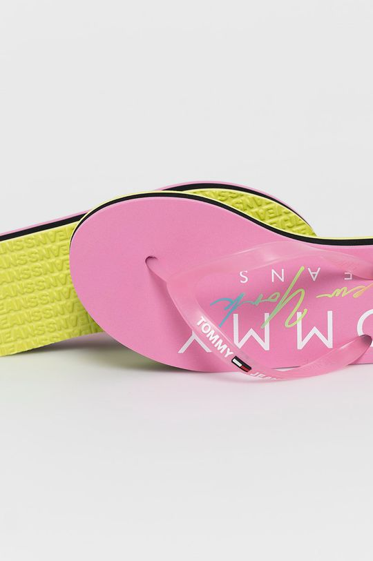 Tommy Jeans - Japonki Cholewka: Materiał syntetyczny, Wnętrze: Materiał syntetyczny, Podeszwa: Materiał syntetyczny