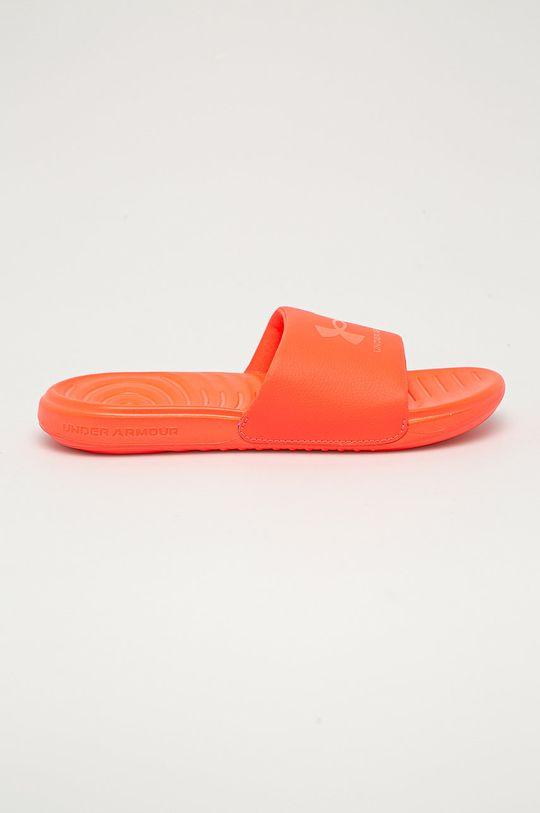oranžová Under Armour - Pantofle Dámský