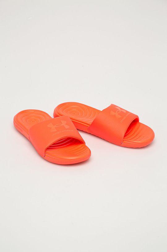 Under Armour - Pantofle oranžová