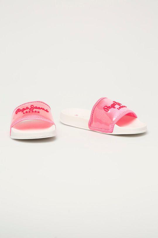 Pepe Jeans - Pantofle Crystal pastelová