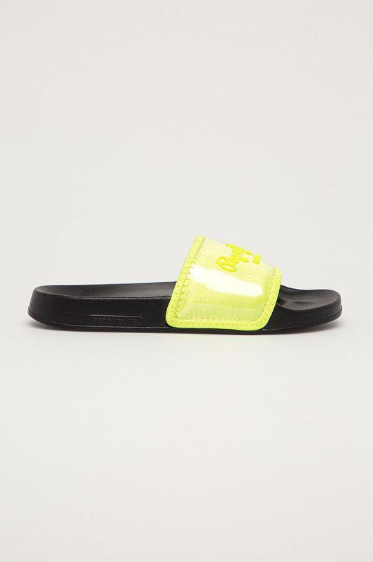 žlutě zelená Pepe Jeans - Pantofle Crystal Dámský
