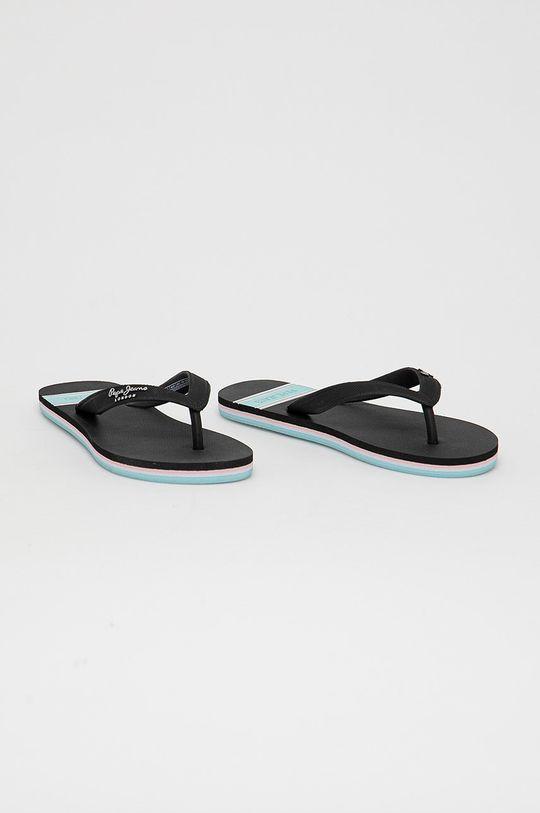 Pepe Jeans - Slapi Bay Beach Woman negru