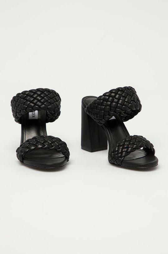 Steve Madden - Papuci Tangle negru