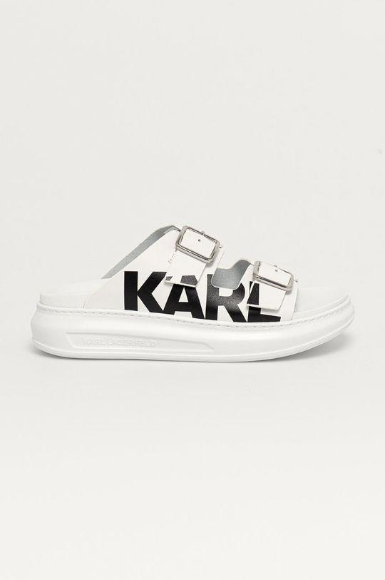 білий Karl Lagerfeld - Шкіряні шльопанці Жіночий