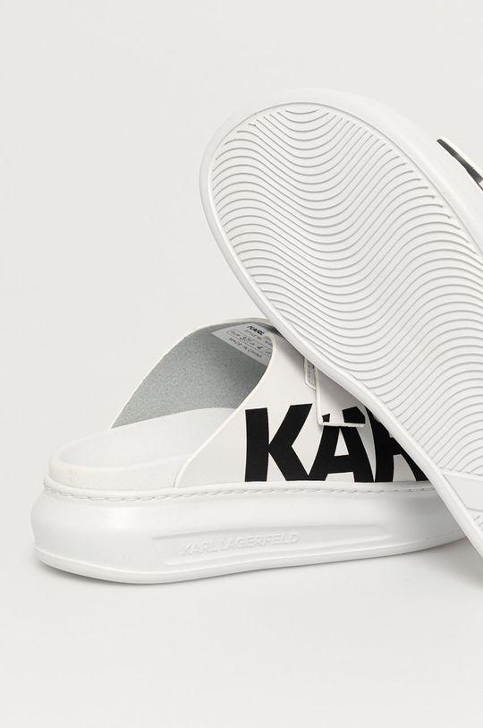Karl Lagerfeld - Шкіряні шльопанці  Халяви: Натуральна шкіра Внутрішня частина: Синтетичний матеріал, Натуральна шкіра Підошва: Синтетичний матеріал