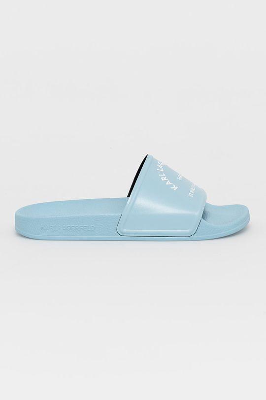 jasny niebieski Karl Lagerfeld - Klapki Damski