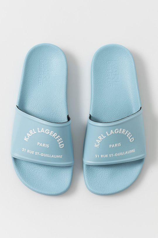 jasny niebieski Karl Lagerfeld - Klapki