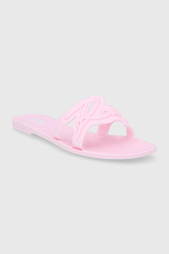 Karl Lagerfeld - Pantofle růžová