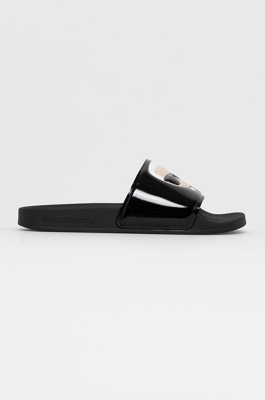 černá Karl Lagerfeld - Pantofle Dámský