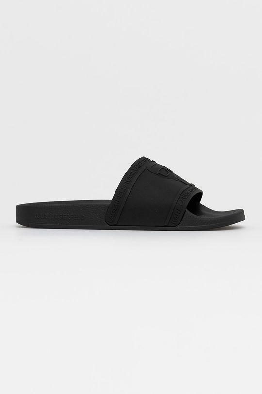 čierna Karl Lagerfeld - Šľapky Dámsky