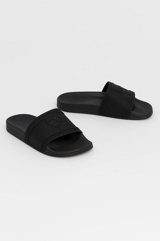 Karl Lagerfeld - Šľapky čierna