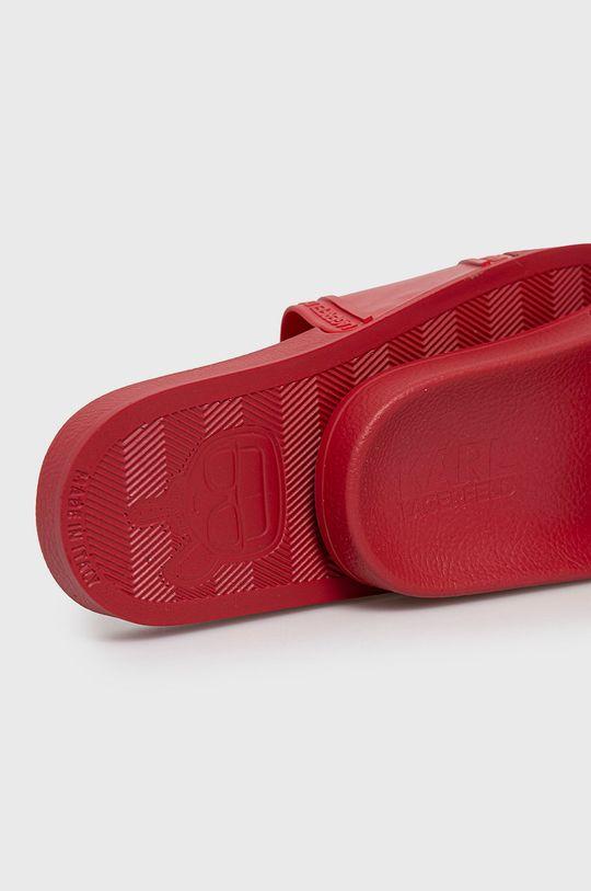 czerwony Karl Lagerfeld - Klapki