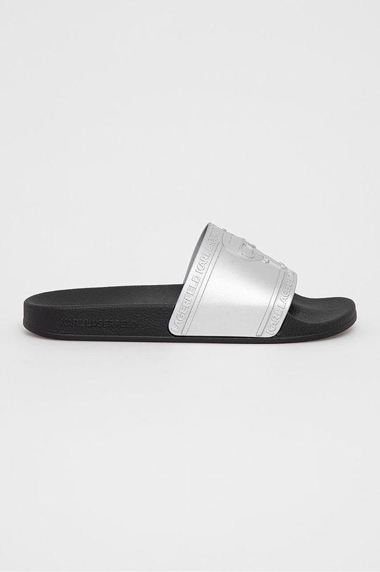stříbrná Karl Lagerfeld - Pantofle Dámský