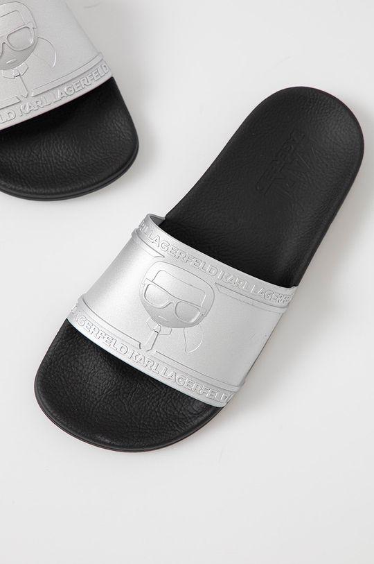 Karl Lagerfeld - Pantofle  Svršek: Umělá hmota Vnitřek: Umělá hmota Podrážka: Umělá hmota