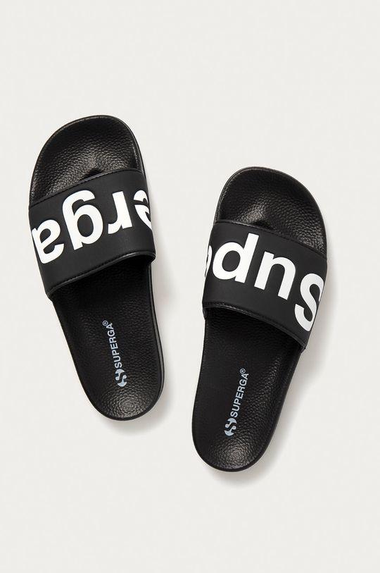 Superga - Pantofle černá