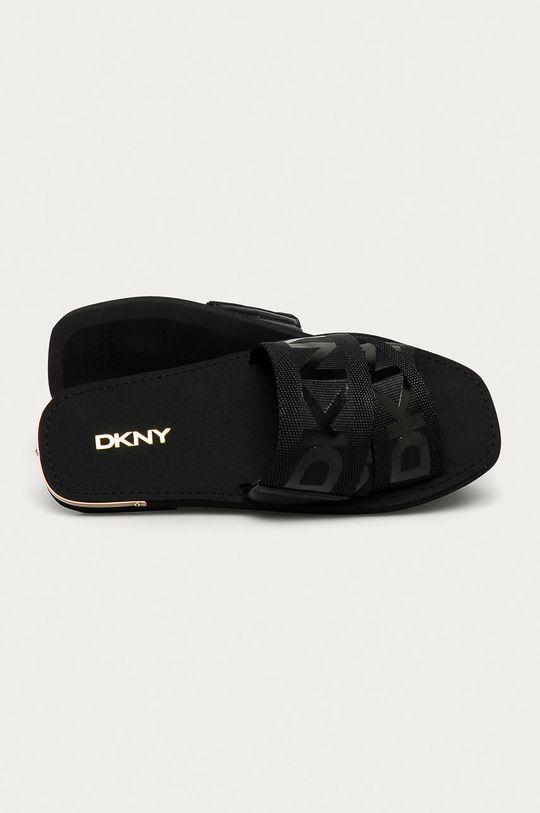 čierna Dkny - Šľapky