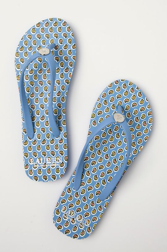 modrá Lauren Ralph Lauren - Dětské žabky