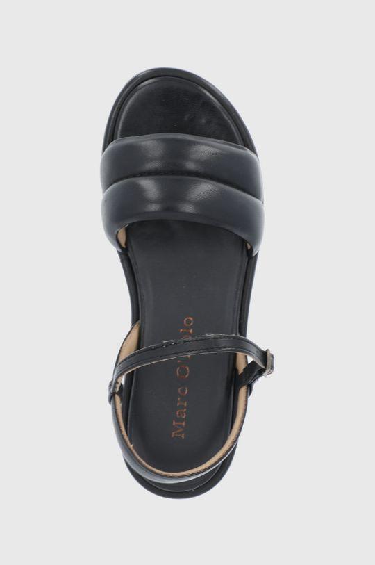 čierna Marc O'Polo - Kožené sandále