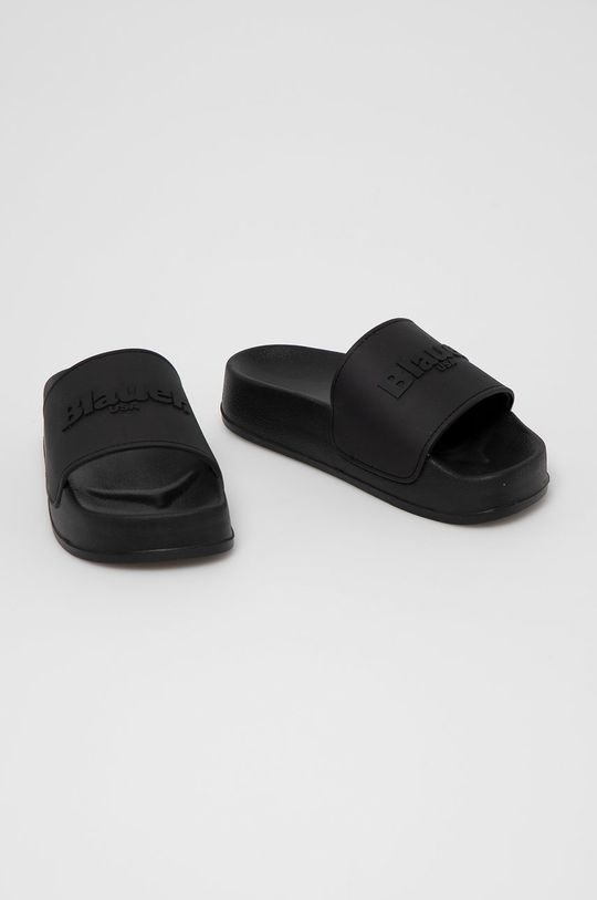 Blauer - Klapki czarny