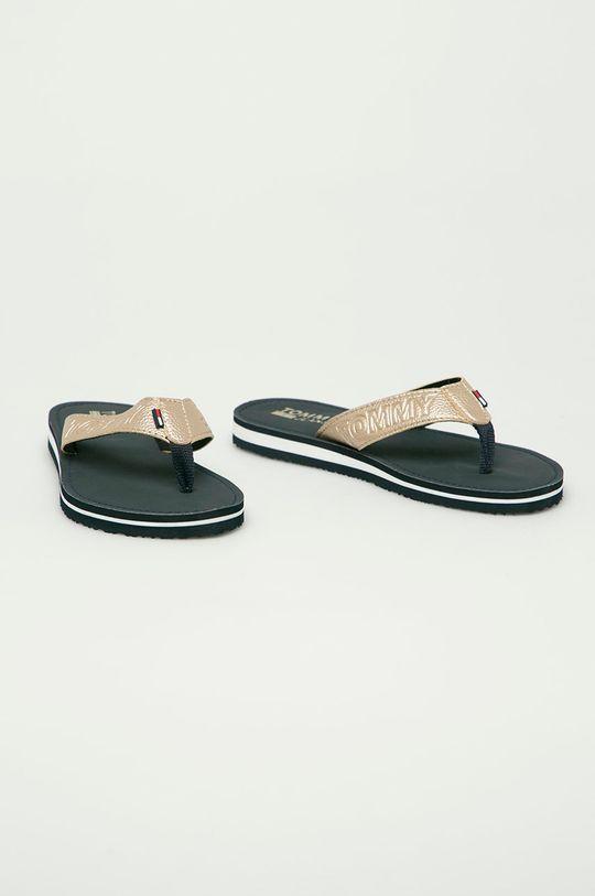 Tommy Jeans - Žabky zlatá