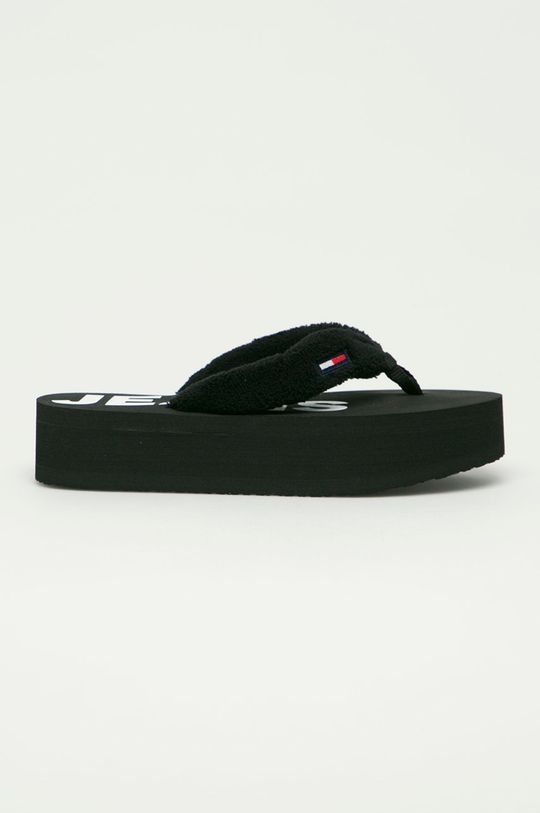černá Tommy Jeans - Žabky Dámský
