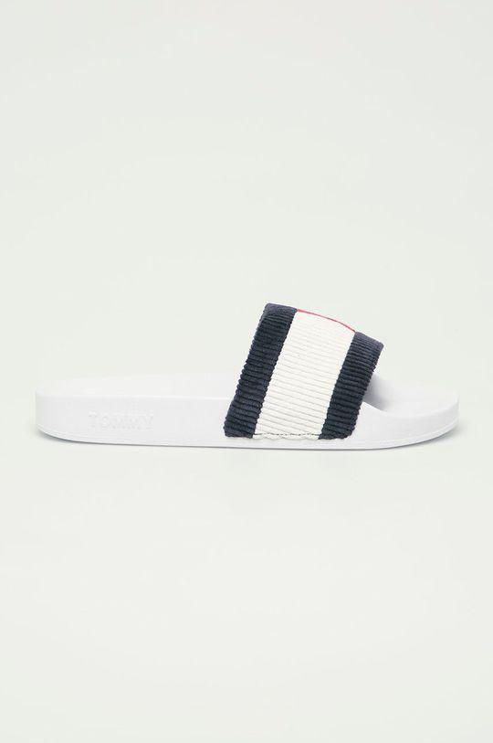 bílá Tommy Jeans - Pantofle Dámský