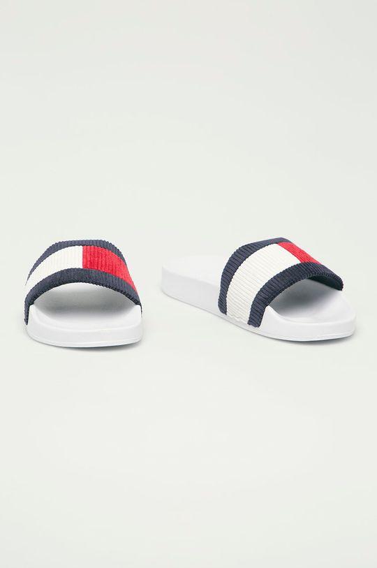 Tommy Jeans - Pantofle bílá