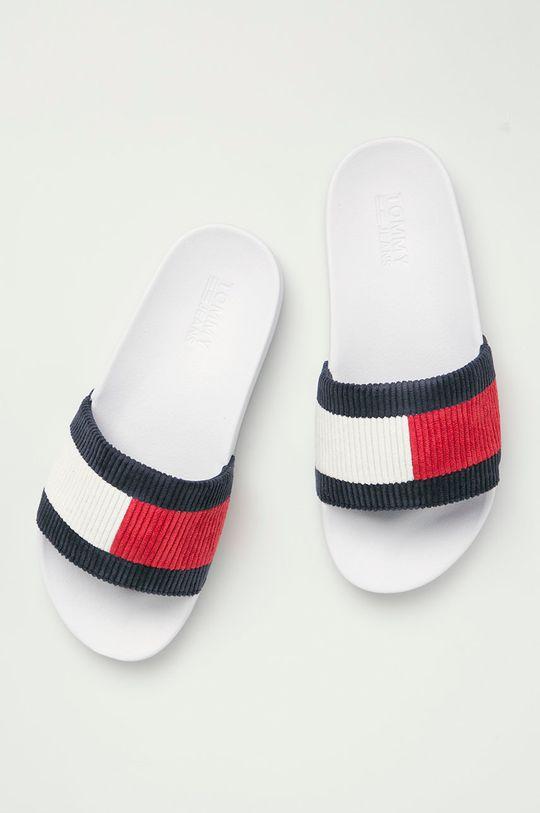 bílá Tommy Jeans - Pantofle