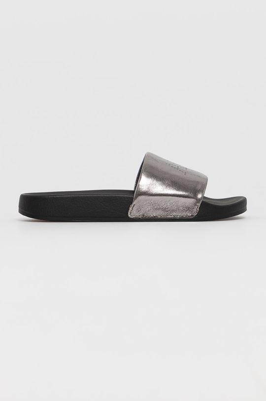 stříbrná AllSaints - Kožené sandály Karli Dámský