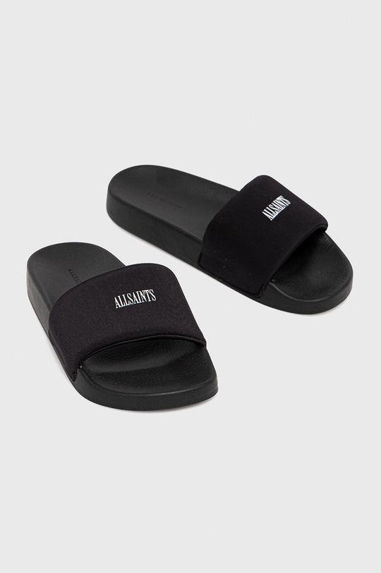 AllSaints - Šľapky Carmel čierna
