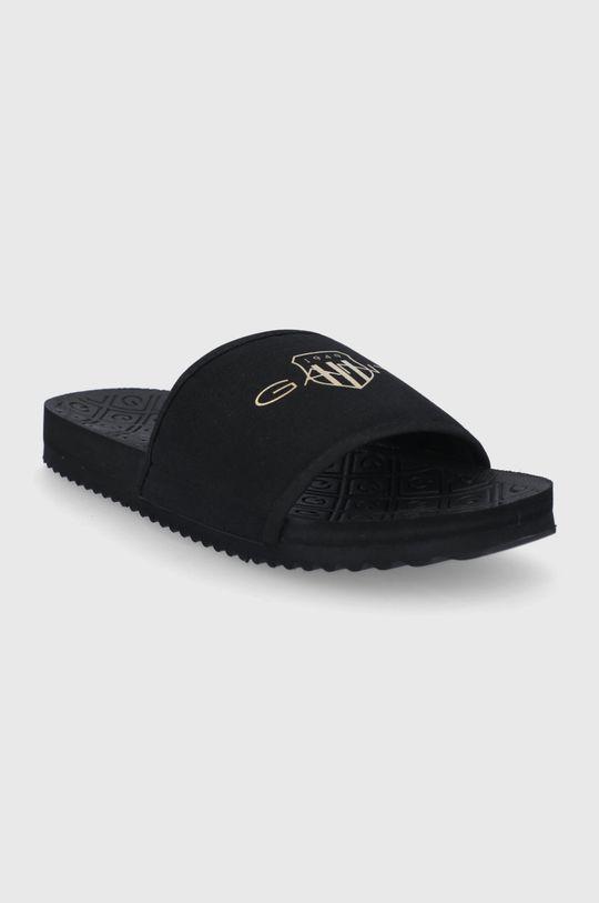 Gant - Šľapky Plagepool čierna