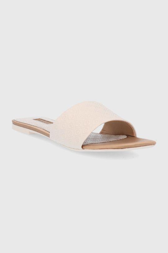 Gant - Kožené pantofle Palmsand béžová