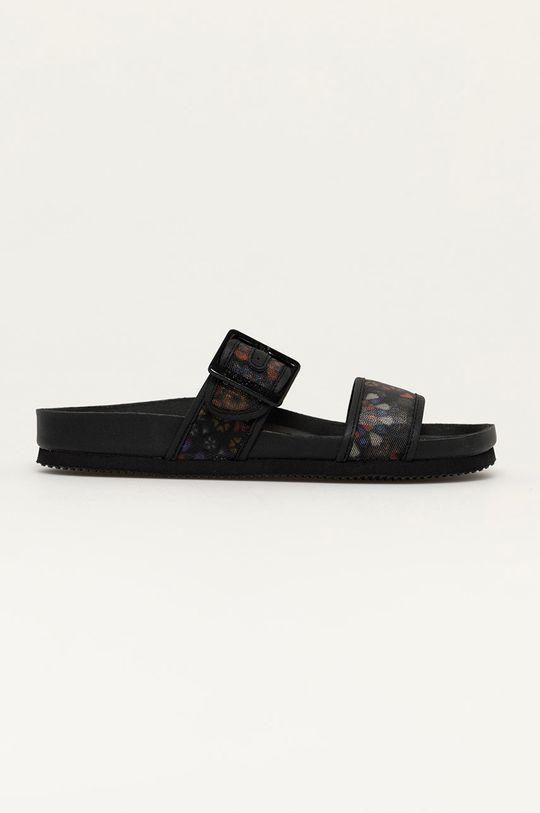 černá Desigual - Pantofle Dámský