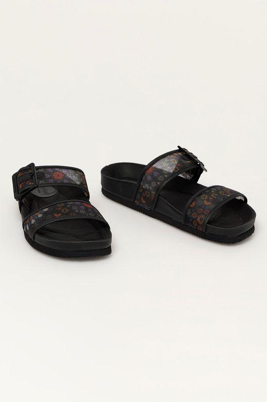 Desigual - Pantofle černá