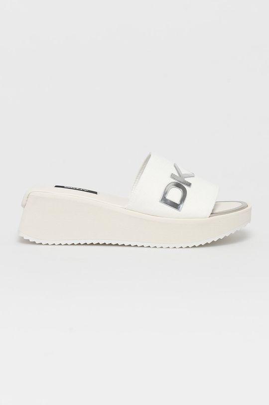 biela Dkny - Šľapky Dámsky