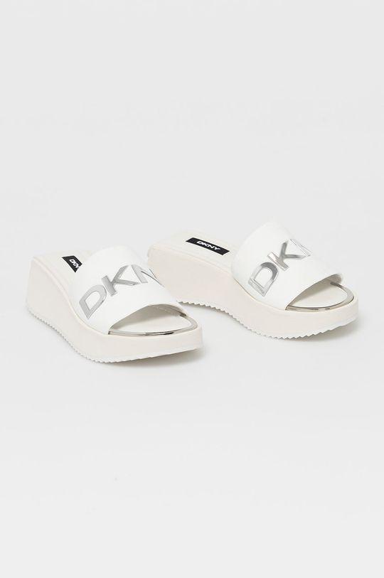 Dkny - Šľapky biela