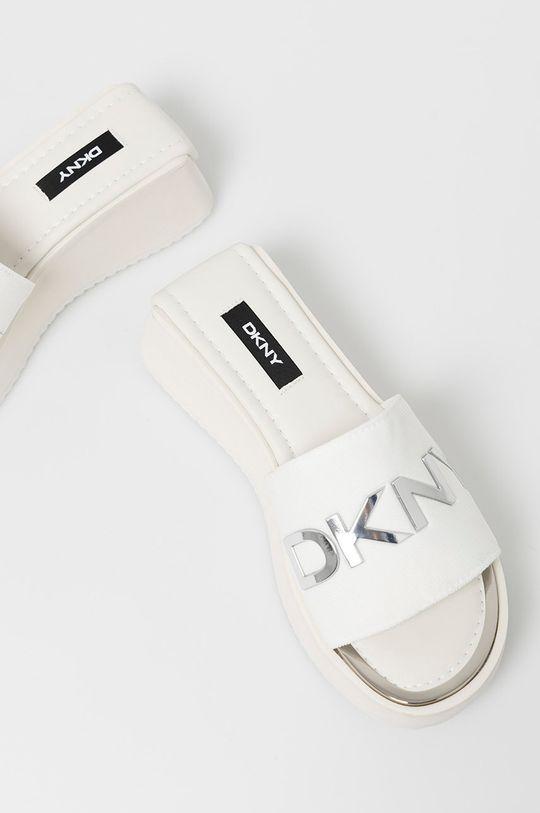 biela Dkny - Šľapky