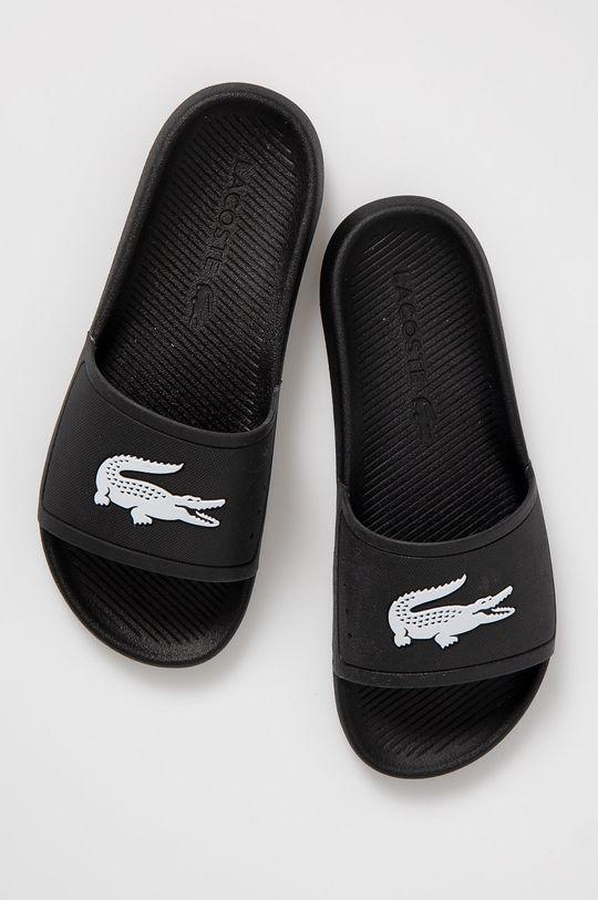 Lacoste - Šľapky čierna