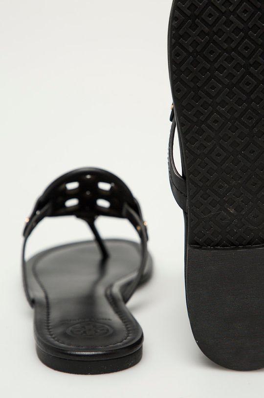 Tory Burch - Kožené žabky  Svršek: Přírodní kůže Vnitřek: Přírodní kůže Podrážka: Umělá hmota