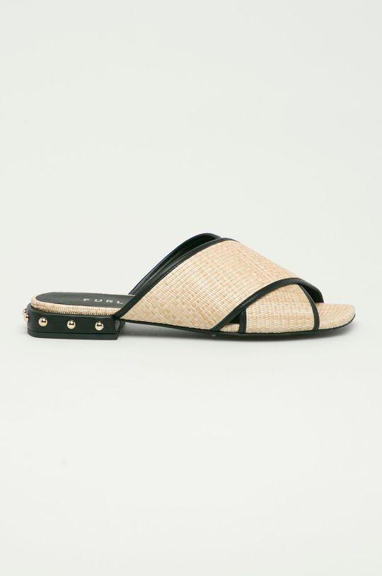 béžová Furla - Pantofle Cross Dámský