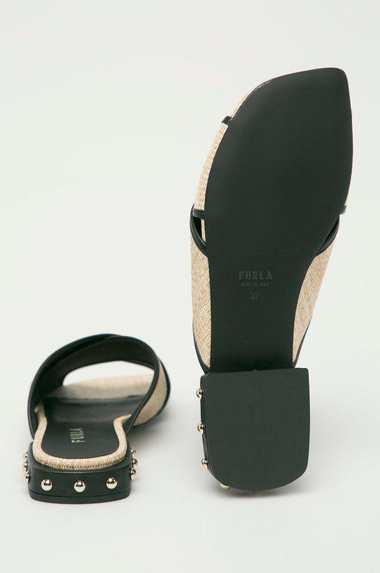 Furla - Pantofle Cross  Svršek: Textilní materiál, Přírodní kůže Vnitřek: Textilní materiál, Přírodní kůže Podrážka: Umělá hmota
