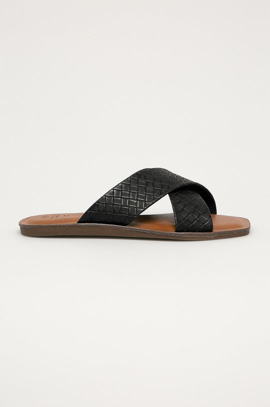 černá Call It Spring - Pantofle Bailia 001 Dámský