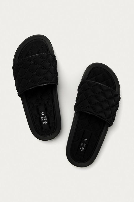 Call It Spring - Pantofle Kaeaniell černá