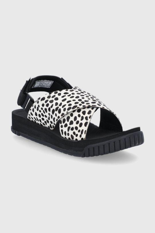 Shaka - Sandały skórzane biały